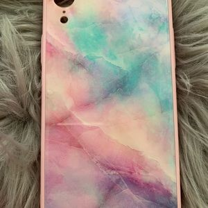 Accessories - Iphone XR Multi-color Marble Case